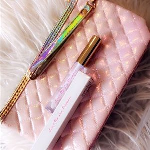 Sparkly Pink Cosmetics Bag plus Free Gift